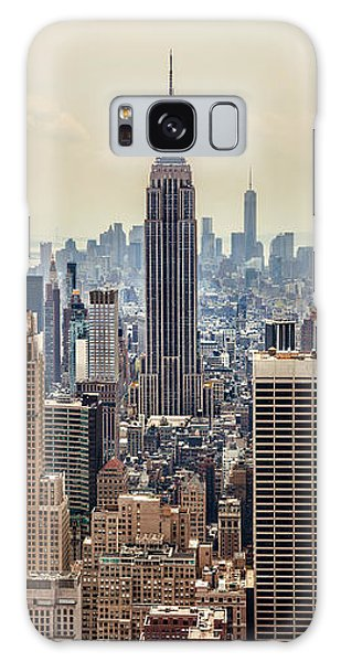 Empire State Building Galaxy S8 Case - Sprawling Urban Jungle by Az Jackson