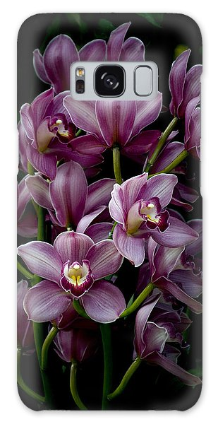 Spray Of Cymbidium Orchids Galaxy Case