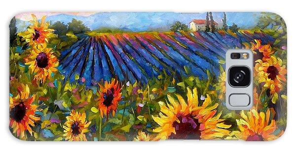 Spread A Little Sunshine Galaxy Case by Chris Brandley