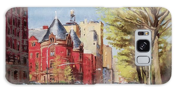Spring Afternoon, Central Park West Galaxy Case