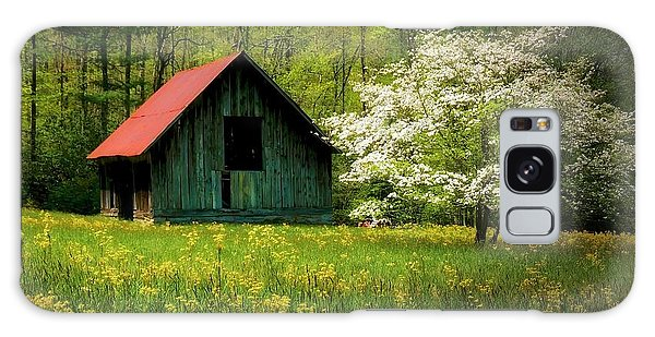 Spring And The Barn Galaxy Case