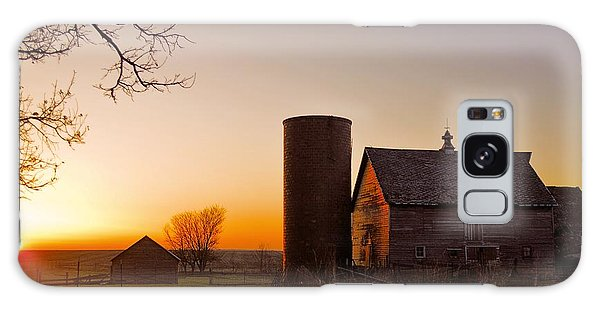 Spring At Birch Barn 2 Galaxy Case by Bonfire Photography
