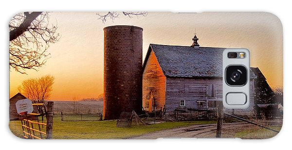 Spring At Birch Barn Galaxy Case by Bonfire Photography