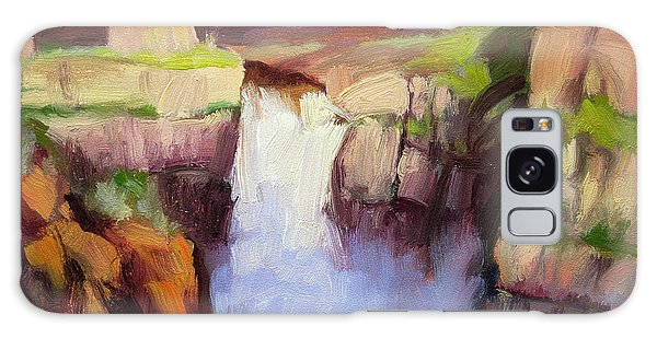 Environments Galaxy Case - Spring At Palouse Falls by Steve Henderson