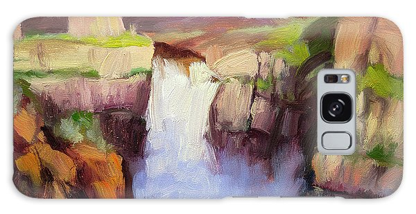 Cause Galaxy Case - Spring At Palouse Falls by Steve Henderson