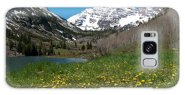 Spring At The Maroon Bells Galaxy Case