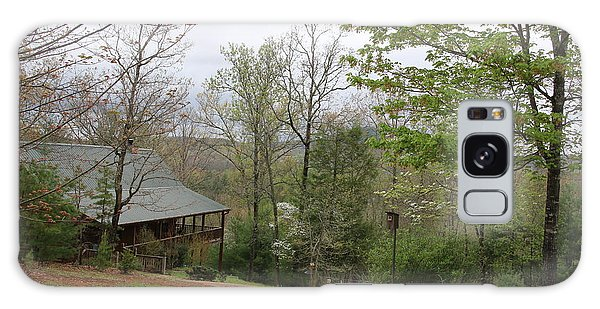 Spring At The Mountain Cabin Galaxy Case by Marilyn Carlyle Greiner