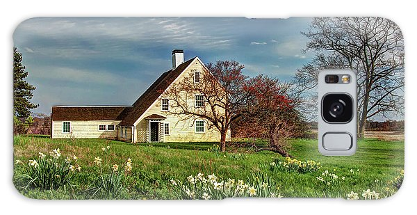Spring At The Paine House Galaxy Case