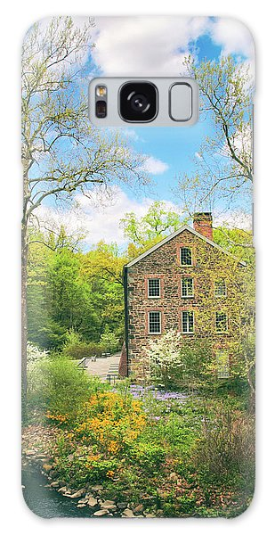 Spring At The Stone Mill  Galaxy Case by Jessica Jenney