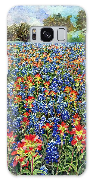 Bloom Galaxy Case - Spring Bliss by Hailey E Herrera