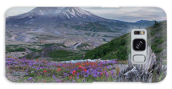 Spring Bloom Mt St Helens Galaxy Case