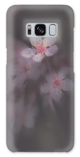 Spring Blooms In The Fog Of Late Winter Galaxy Case