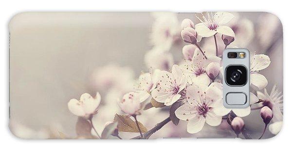 Spring Blossom Galaxy Case
