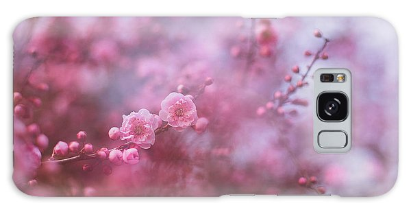Spring Blossoms In Their Beauty Galaxy Case