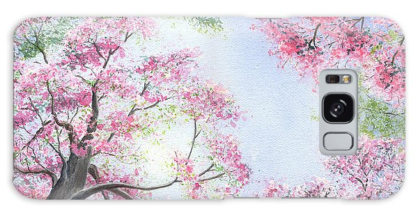 Spring Blossoms Galaxy Case