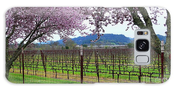 Spring Blossoms Near Calistoga Galaxy Case