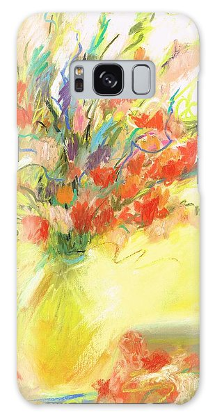 Spring Bouquet Galaxy Case by Frances Marino