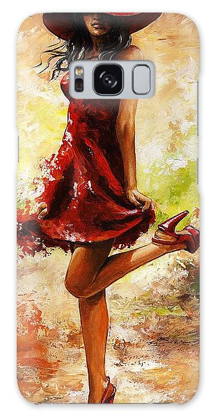 Spring Breeze Galaxy Case by Emerico Imre Toth
