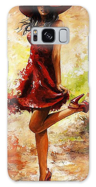 Breeze Galaxy Case - Spring Breeze by Emerico Imre Toth