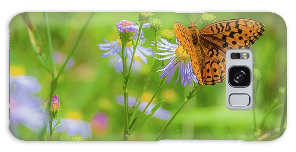 Spring Butterfly Galaxy Case
