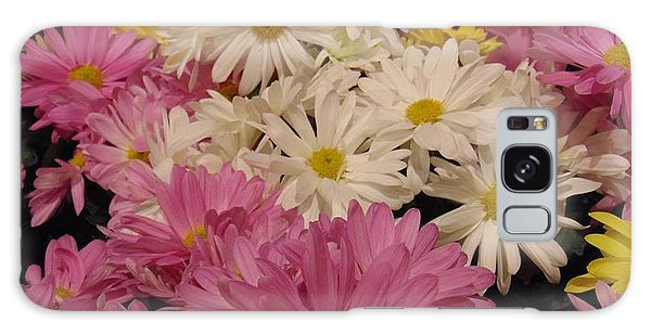 Spring Daisies Galaxy Case by Charlotte Gray