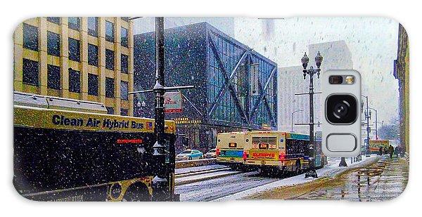 Spring Day In Chicago Galaxy Case by Dave Luebbert