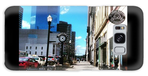 Spring Day In Downtown Lexington, Ky Galaxy Case