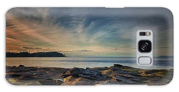 Spring Evening At Madrona Galaxy Case by Randy Hall