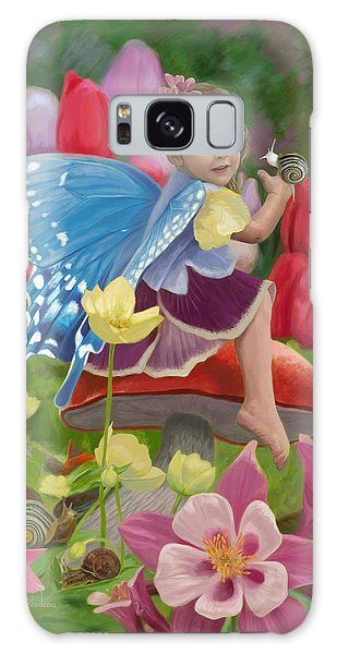 Spring Fairy Galaxy Case by Lucie Bilodeau