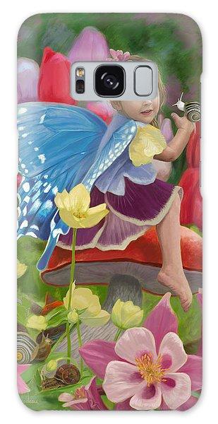 Fairy Galaxy S8 Case - Spring Fairy by Lucie Bilodeau