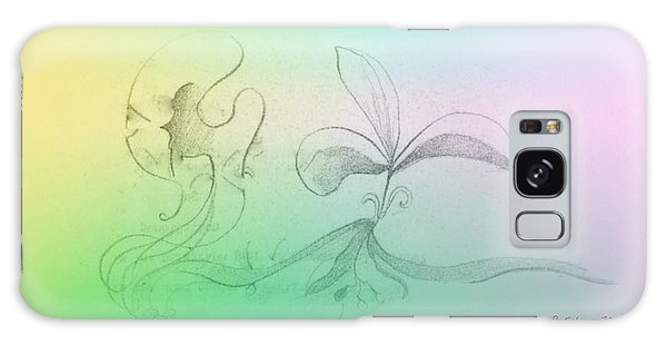 Galaxy Case featuring the mixed media Spring Feelings 1 by Denise Fulmer