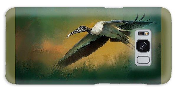 Stork Galaxy S8 Case - Spring Flight by Marvin Spates