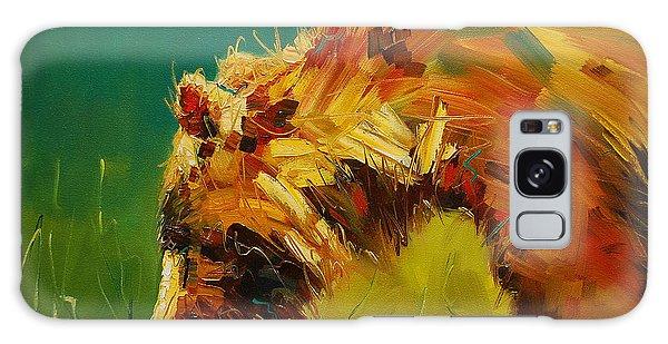 Spring Flower Bear Galaxy Case