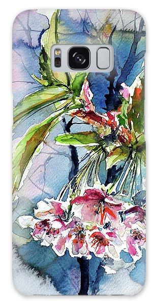 Spring Flower Galaxy Case by Kovacs Anna Brigitta