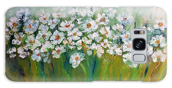 Spring Flowers Galaxy Case by AmaS Art
