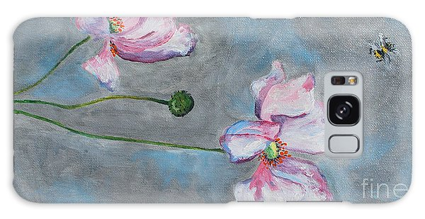 Spring Flowers  Galaxy Case by Reina Resto