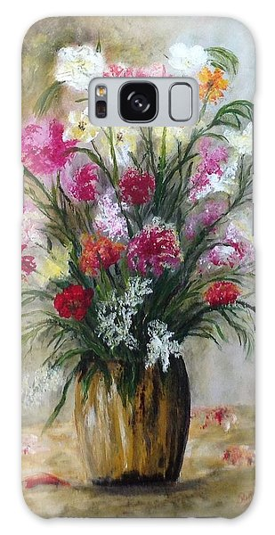 Spring Flowers Galaxy Case by Renate Voigt