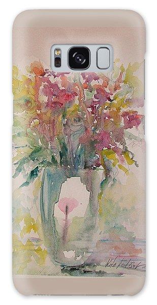 Spring Flowers Galaxy Case by Rita Fetisov