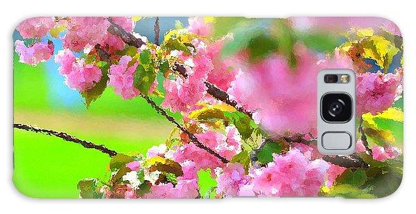 Spring Glory Galaxy Case