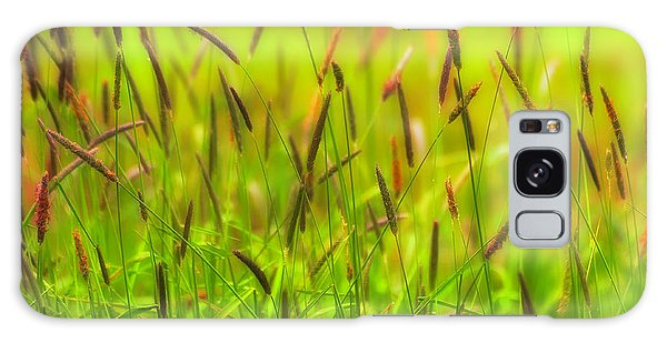 Spring Grasses Galaxy Case