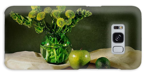 Vase Of Flowers Galaxy Case - Spring Green by Diana Angstadt