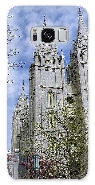 Temple Galaxy Case - Spring Has Sprung by Chad Dutson