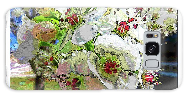 Spring Has Sprung Galaxy Case by Deborah Nakano