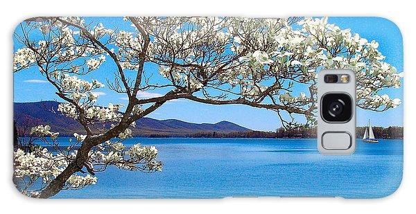 Spring Has Sprung Smith Mountain Lake Galaxy Case