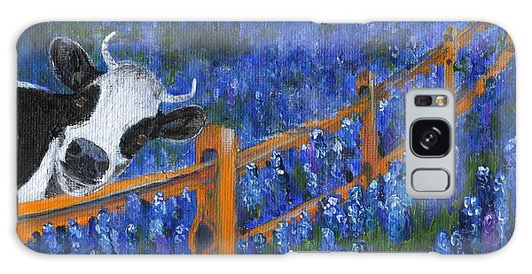 Galaxy Case featuring the painting Spring Has Sprung by Jamie Frier