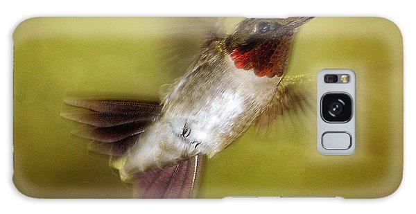 Spring Hummingbird Galaxy Case
