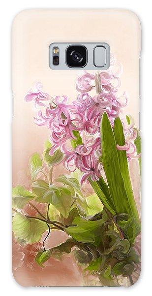 Spring Hyacinth Galaxy Case