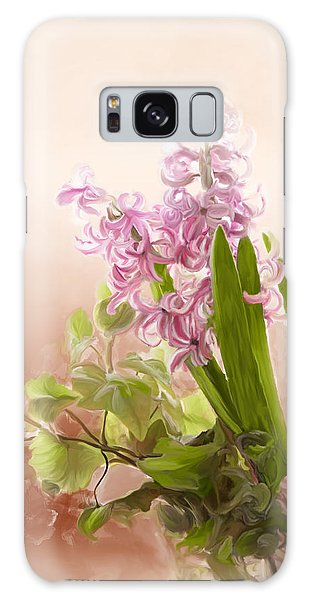 Spring Hyacinth Galaxy Case
