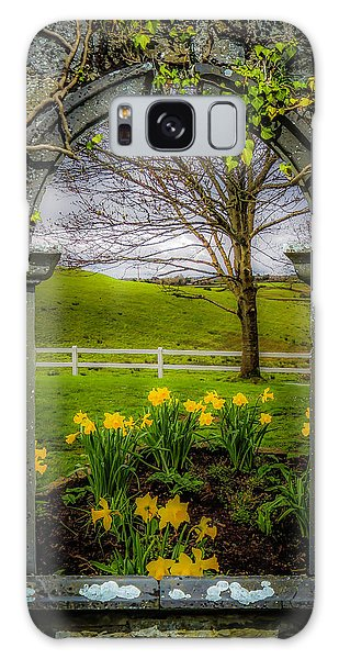 Galaxy Case featuring the photograph  Spring In Ballynacally, County Clare by James Truett