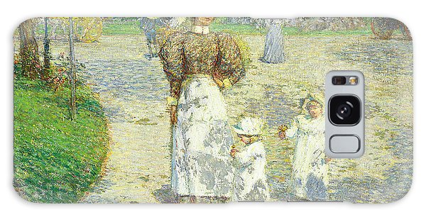 Central America Galaxy Case - Spring In Central Park by Childe Hassam